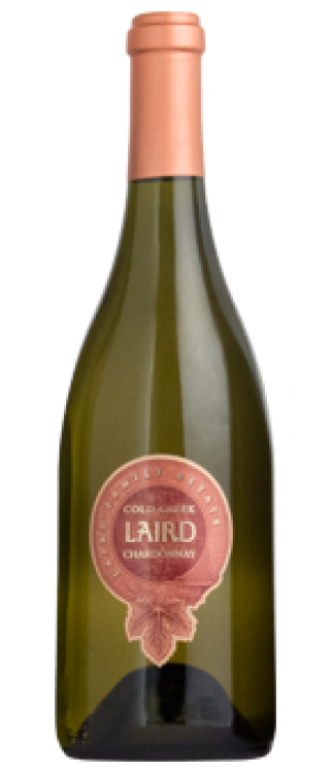 Laird Family Estate Cold Creek Ranch 2015 Chardonnay Bottle