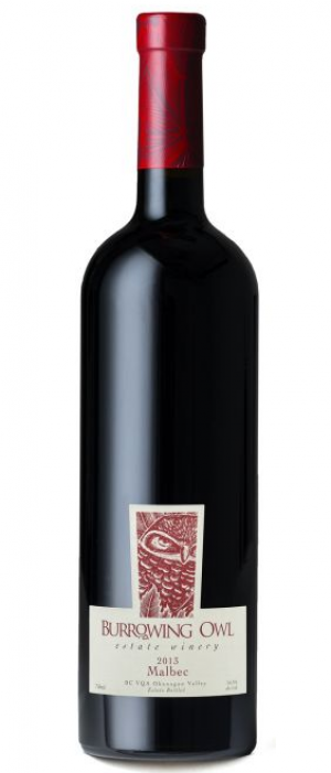 Burrowing Owl Estate Winery 2013 Malbec Bottle