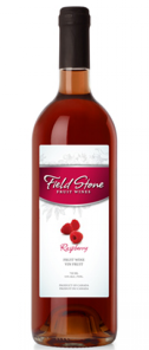 Field Stone Fruit Wines Raspberries Bottle