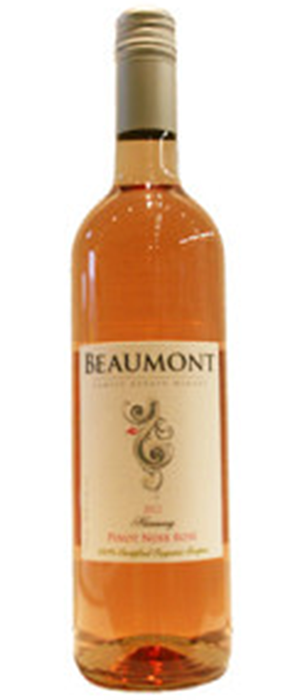 Beaumont Harmony Pinot Noir Rose Bottle