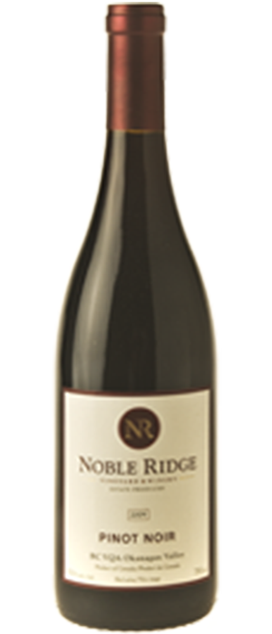 Noble Ridge Vineyard & Winery 2011 Pinot Noir Bottle