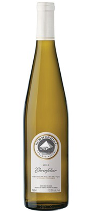 Summerhill Pyramid Winery 2013 Ehrenfelser Bottle