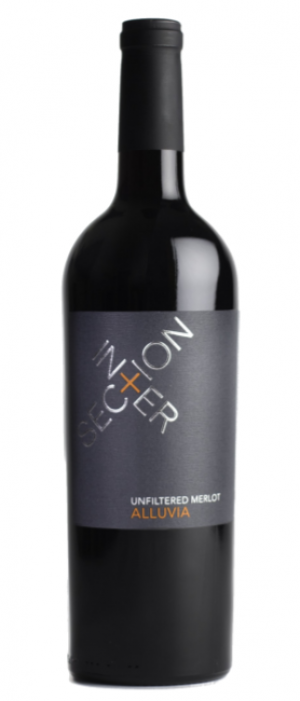 Intersection Estate Winery 2014 Alluvia Merlot  Bottle