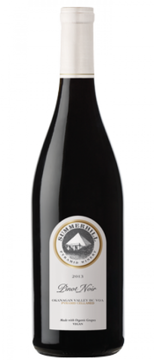 Summerhill Pyramid Winery 2013 Pinot Noir Bottle
