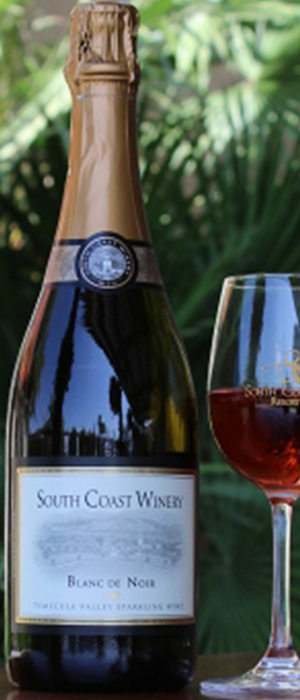 South Coast Winery 2013 Blanc de Noir  Bottle