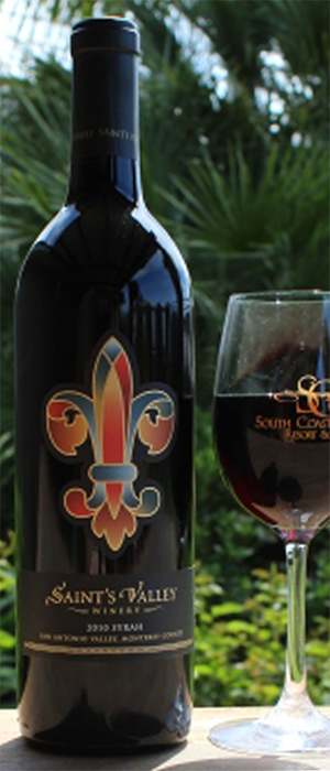 Saint's Valley Syrah Bottle