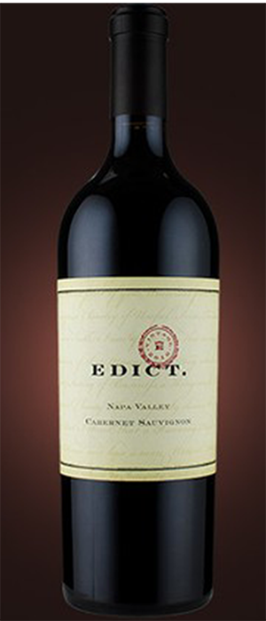 Napa Valley Cabernet Sauvignon Bottle