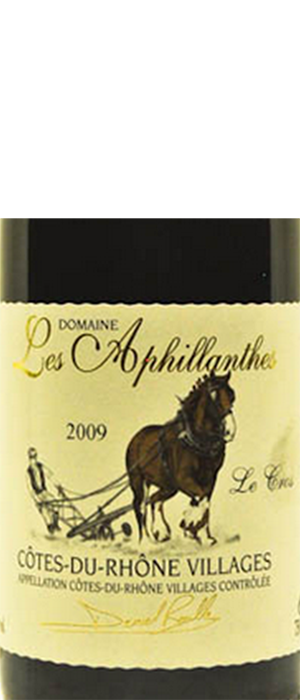 Domaine les Aphillanthes 2009 Grenache Bottle