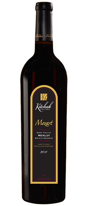 Mozart Estate Reserve Merlot Bottle
