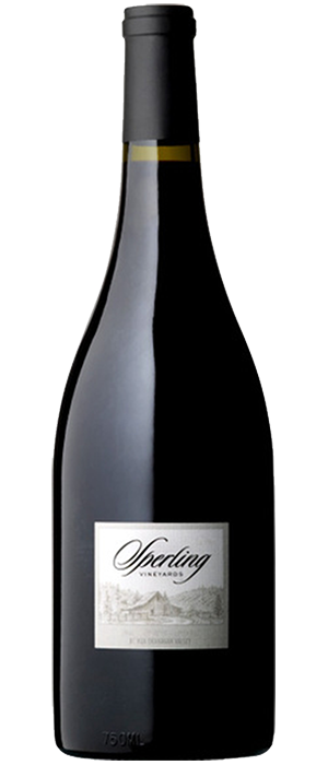 Sperling Vineyards 2012 Pinot Noir Bottle