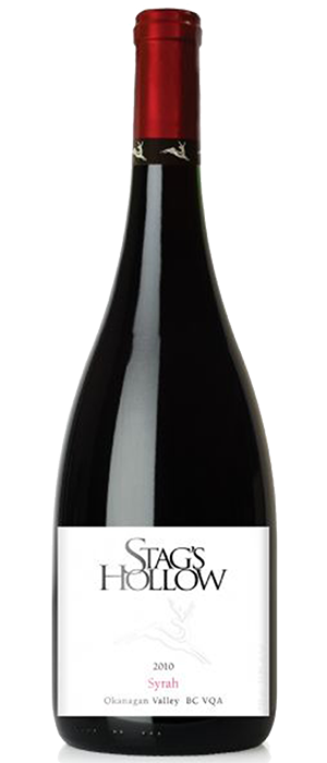 Stag's Hollow 2010 Syrah (Shiraz) Bottle