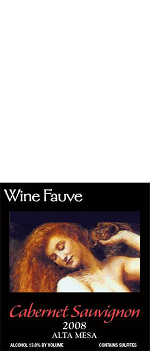 Wine Fauve 2013 Cabernet Sauvignon | Red Wine