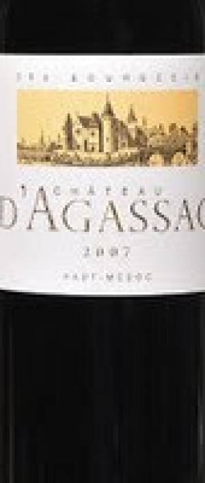 Chateau D'Agassac Red Bordeaux Bottle