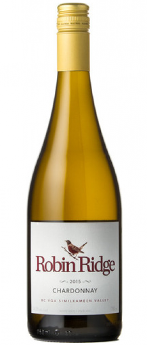 Robin Ridge Winery 2015 Chardonnay Bottle