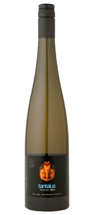 Tantalus Vineyards 2014 Riesling Bottle