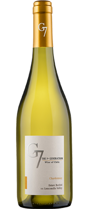 G7 2013 Chardonnay Bottle