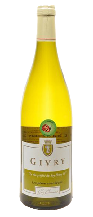 Organic White Burgundy Bottle