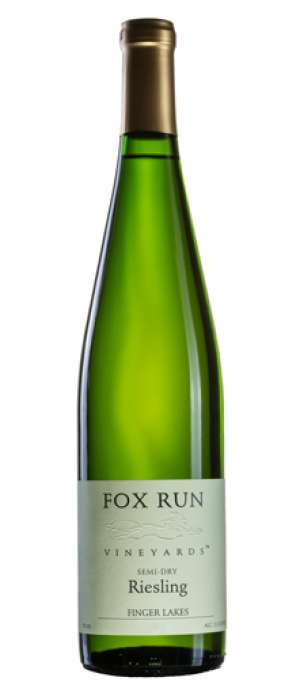Fox Run 2017 Semi-Dry Riesling  | White Wine