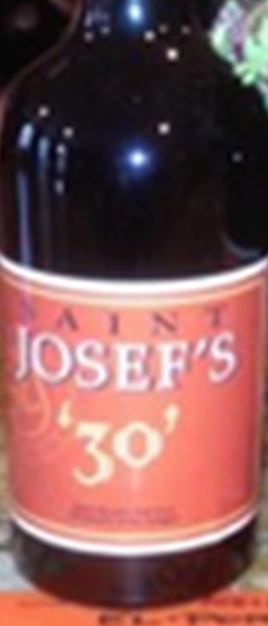 '30' – St Josef's Reserve Port Style Wine Bottle