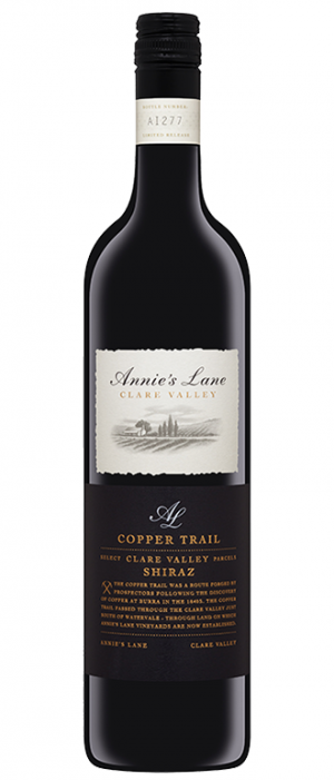 Annie's Lane Copper Trail Shiraz Bottle