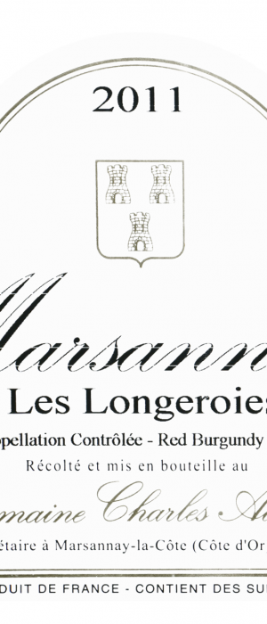 Marsannay Les Longeroies Bottle