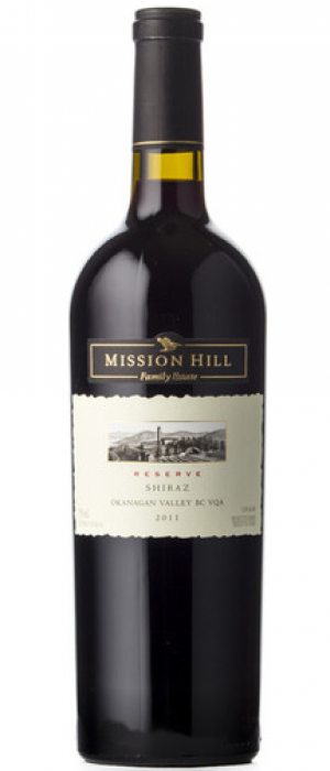 Mission Hill Reserve 2011 Shiraz Bottle