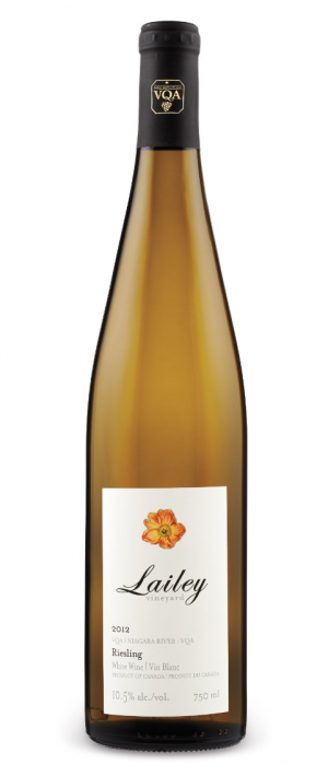 Lailey Winery 2014 Riesling Bottle