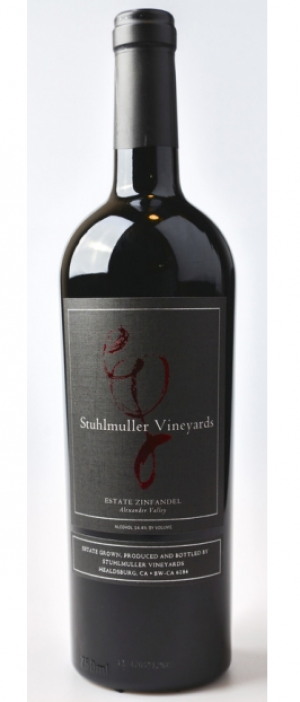 Stuhlmuller Vineyards Zinfandel 2015 Bottle