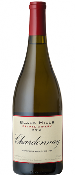 Black Hills Estate Winery 2016 Chardonnay Bottle