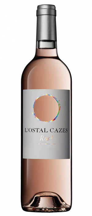 L'Ostal Cazes Rosé 2016 Bottle