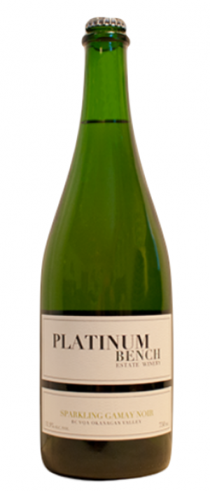 Platinum Bench Estate Winery 2013 Sparkling Gamay Noir Bottle