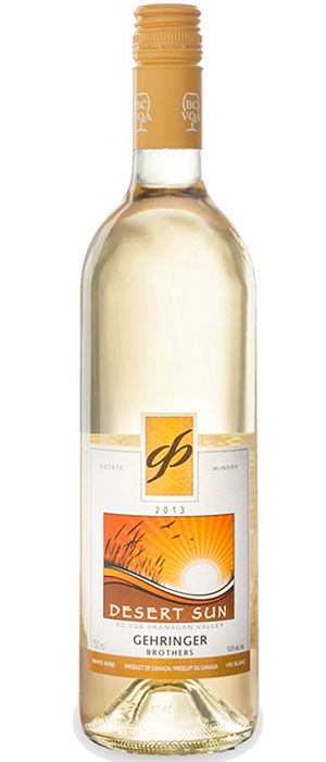 Gehringer Brothers 2013 Desert Sun Bottle