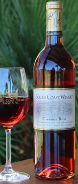 Cabernet Rose Bottle