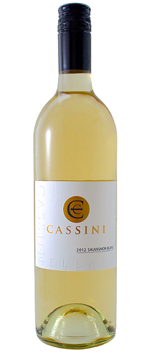 Cassini Cellars 2012 Sauvignon Blanc Bottle