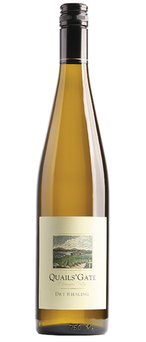 Quails' Gate 2013 Dry Riesling Bottle