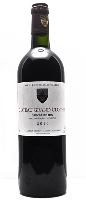 St. Emilion Grand Clocher Bottle