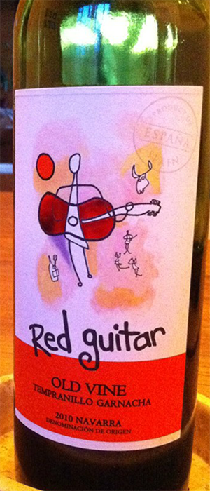 Red Guitar 2010 Tempranillo Bottle
