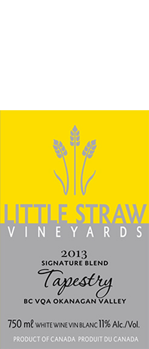 Little Straw Vineyards Estate 2013 Tapestry Bottle