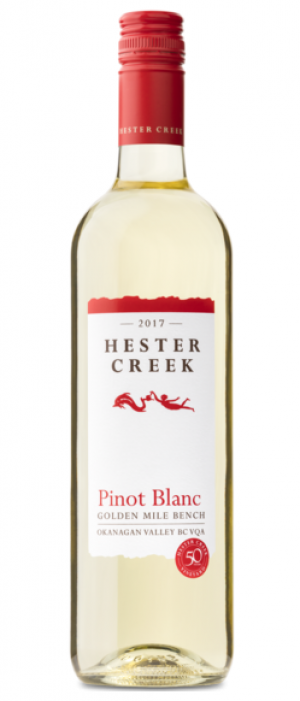 Hester Creek Estate Winery 2017 Pinot Blanc Bottle