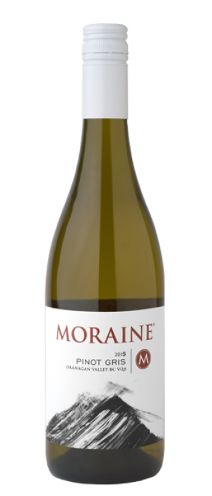 Moraine Estate Winery 2017 Pinot Gris (Grigio) Bottle