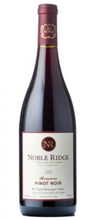 Noble Ridge Reserve 2014 Pinot Noir Bottle