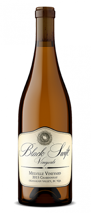 "Black Swift Vineyards 2015 ""Melville Vineyard"" Chardonnnay Bottle"