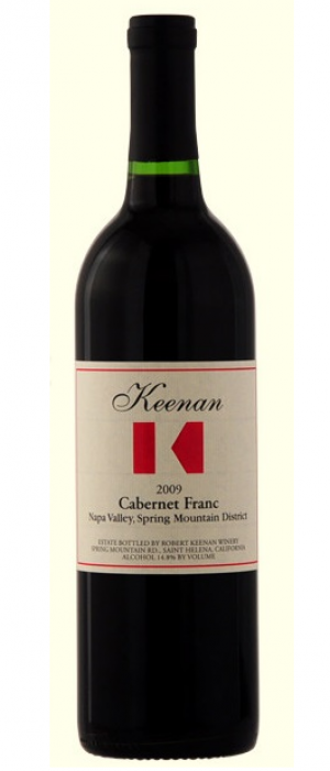 Robert Keenan Winery 2009 Cabernet Franc Bottle