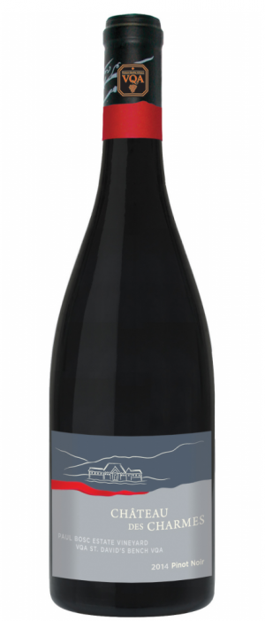 Chateau des Charmes 2014 Pinot Noir | Red Wine
