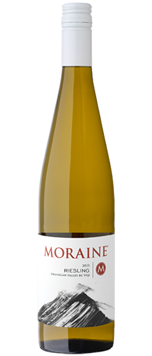Moraine Estate Winery 2013 Riesling Bottle