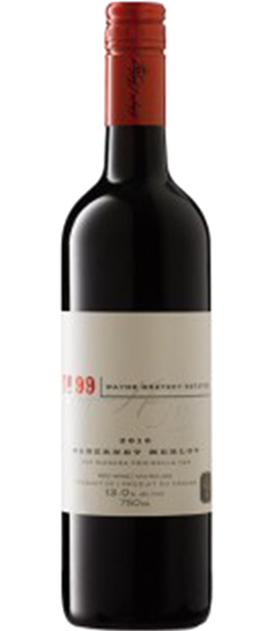 Wayne Gretzky Estates No.99 2012 Cabernet-Merlot Bottle
