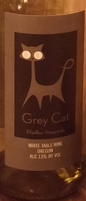 Grey Cat Bottle