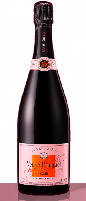 Veuve Clicquot Rosé Champagne Bottle