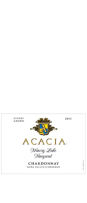 Acacia Vineyard Winery Lake Vineyard 2011 Chardonnay Bottle