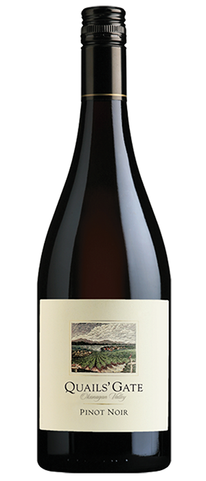 Quails' Gate Winery 2012 Pinot Noir Bottle